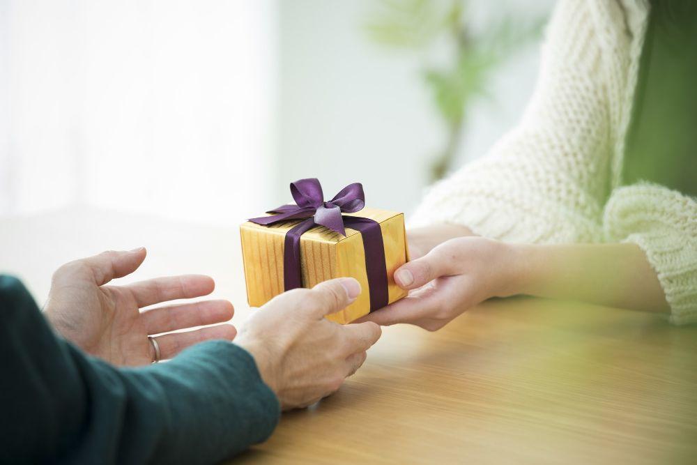 彼女に渡すプレゼント