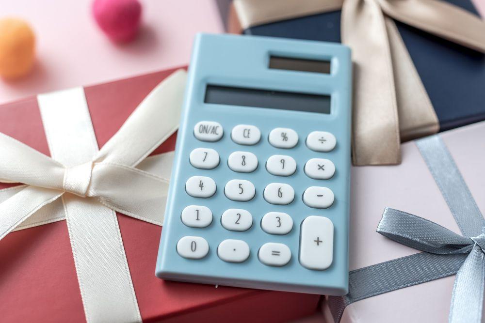 プレゼントの予算