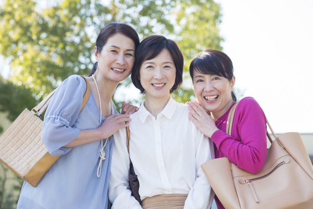 50代の女性たち