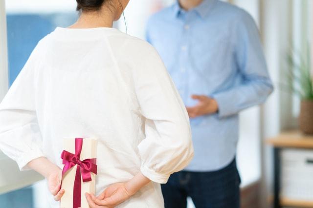 女性から男性へプレゼント
