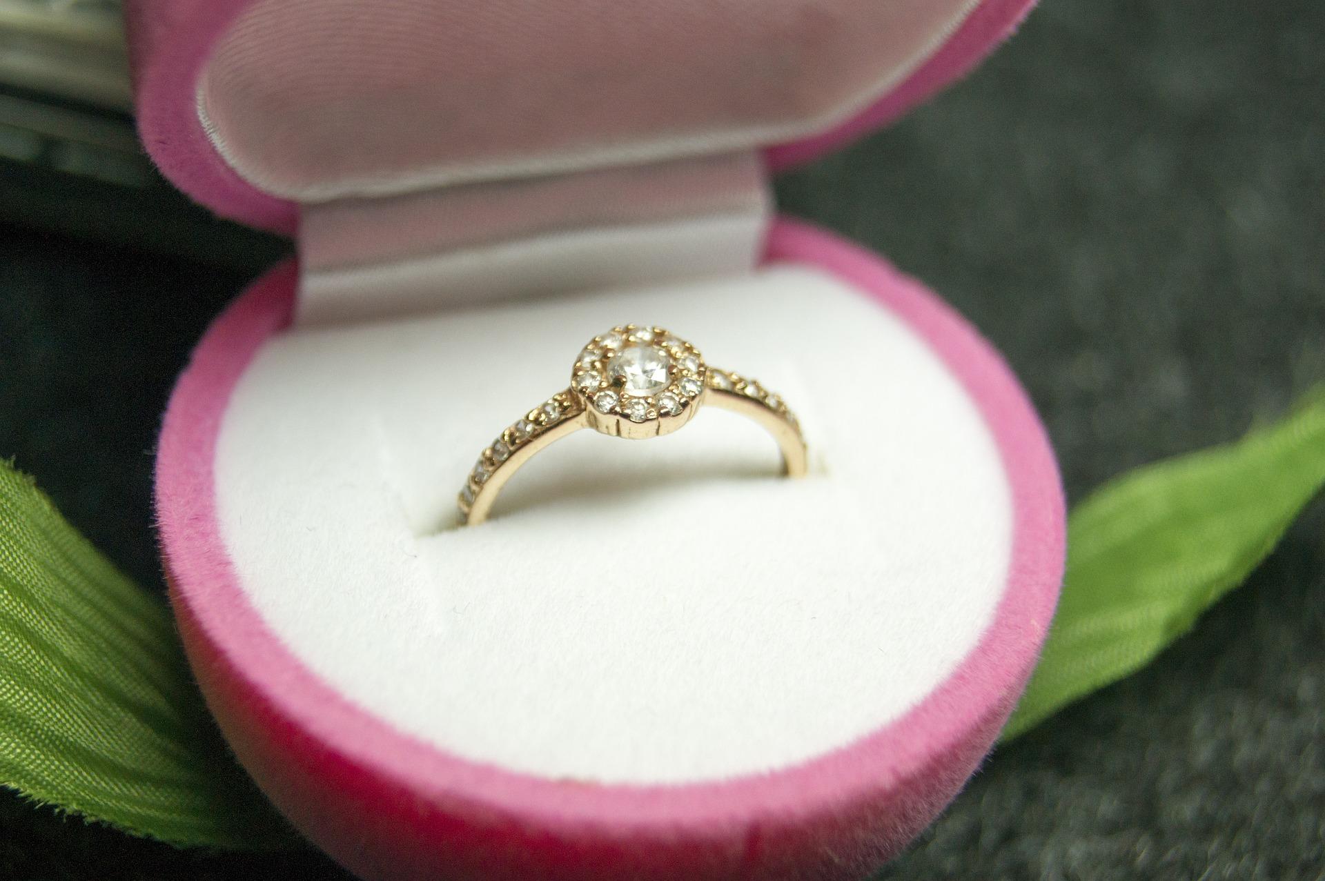 リングケースの指輪