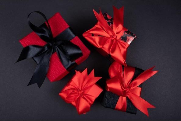 複数のプレゼント画像